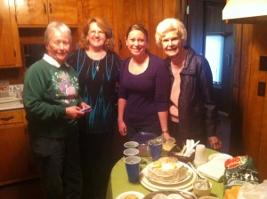 Bobby Hynson, Rosemary Robertson-Smith, Katie Whitaker and Betty Conner