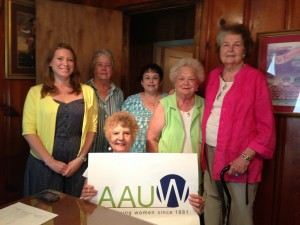 Left to right: Katie Whitaker, Bobby Hynson, Gloria Hearn (seated), Pam Todd, Lindell Edwards, Pat Barber.