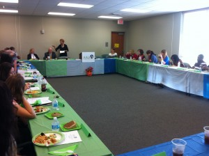 Luncheon welcome by Alexandria/Pineville Branch president, Gloria Hearn