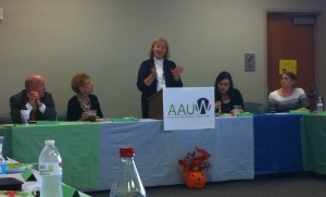 Updates from the Louisiana State AAUW, presented by Past State President and Student Advisory Council coordinator, Anne Taylor.