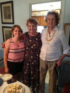 From left to right: Bethany Mueller, Gloria Hearn, Patsy Barber.