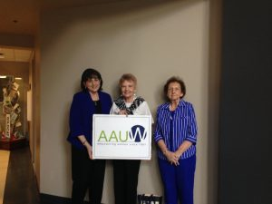 Debra Freda, Gloria Hearn, and Bonnie White - 2016 Spring Open Board Meeting (June)